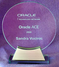 Oracle Ace Award